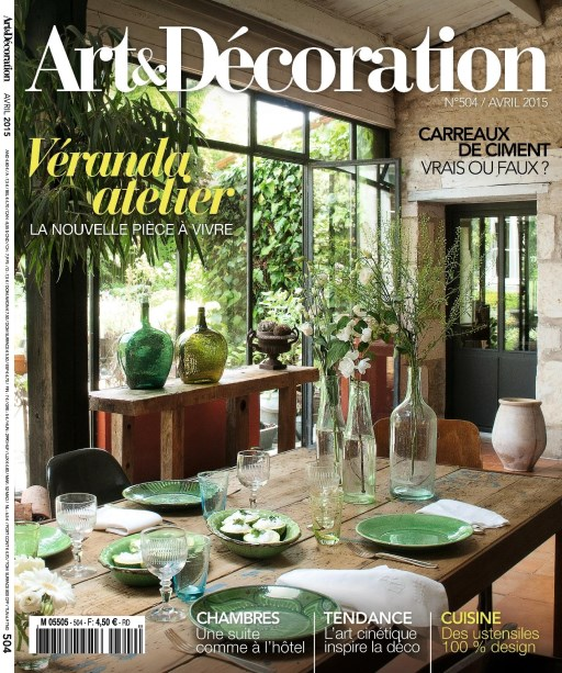 Art d coration 504 abbonamento pacchetto stampa for Art e decoration rivista